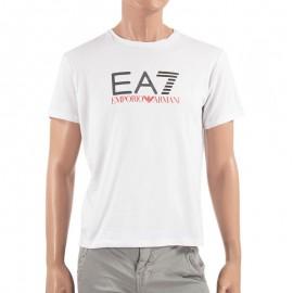Tee-shirt Blanc Homme Emporio Armani