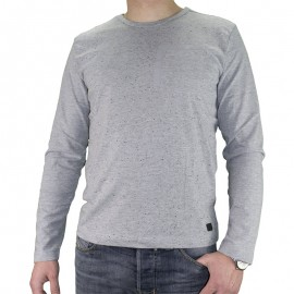 Tee-shirt Lima Gris Homme Crossby