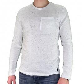 Tee-shirt Lima Ecru Homme Crossby