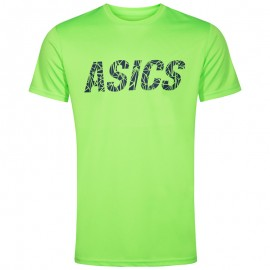 Tee-Shirt Graphic Vert Entrainement Homme Asics