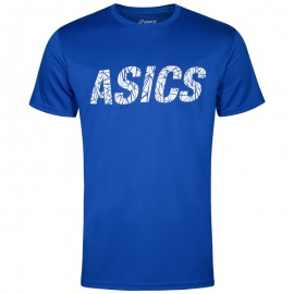 Tee-Shirt Graphic Bleu Entrainement Homme Asics