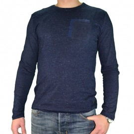 Tee-shirt Lima Marine Homme Crossby