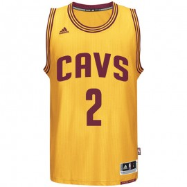 Maillot Swingman K. Irving Cleveland Cavaliers Basketball Jaune Homme Adidas