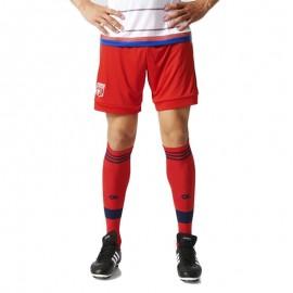 Short Olympique Lyonnais Rouge Football Homme Adidas