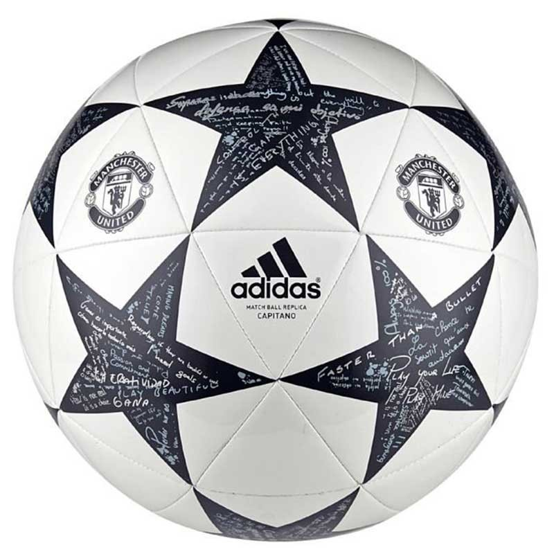 Ballon Manchester United Blanc Football Adidas