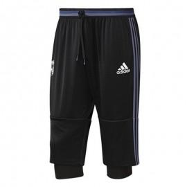 Short 2 en 1 Real Madrid Football Noir Garçon Adidas