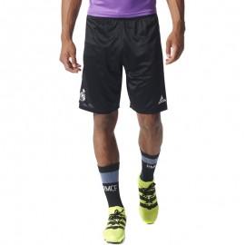 Short Real Madrid Football Noir Homme Adidas