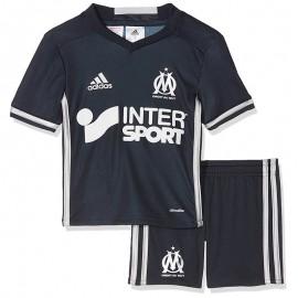 Minikit Olympique de Marseille Football Marine Bébé Garçon Adidas