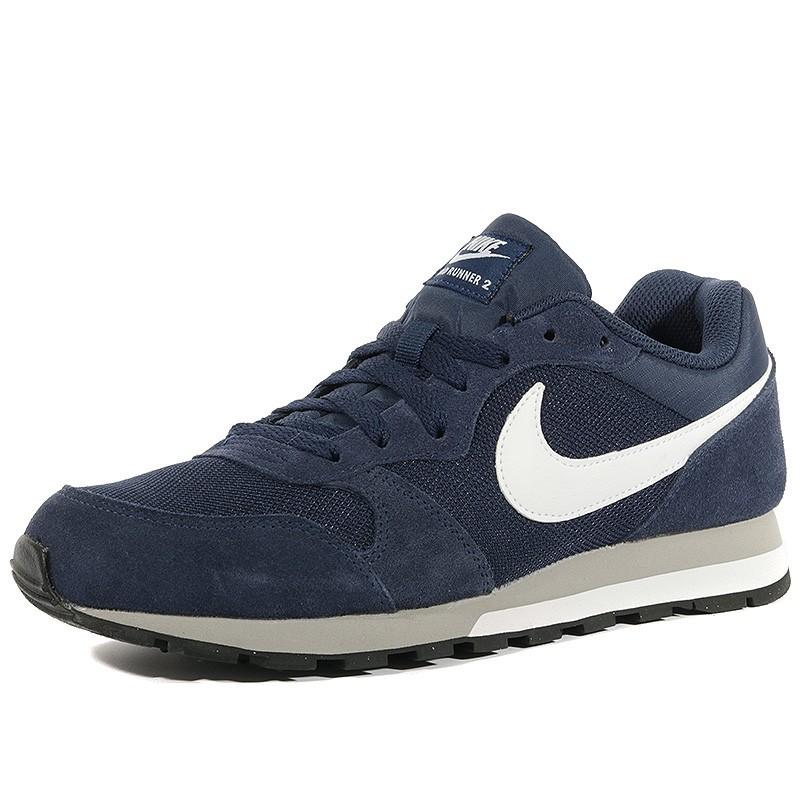 Nike 2 Bleu Runner Chaussures Homme Md fqp4w4