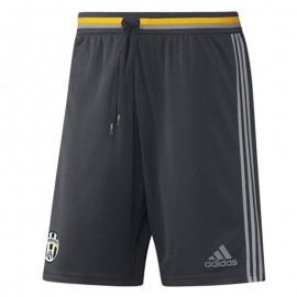 Short Juventus de Turin Football Gris Homme Adidas