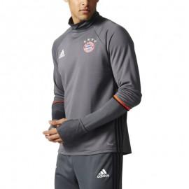 Sweat Bayern de Munich Football Gris Homme Adidas