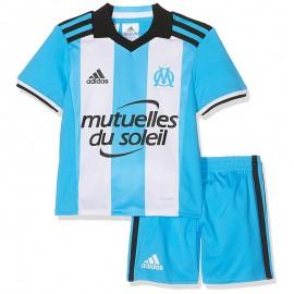 Minikit Olympique de Marseille Football Bleu Bébé Garçon Adidas