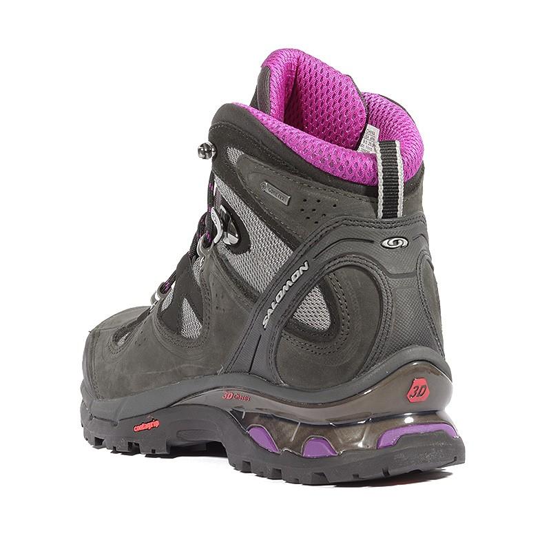 Chaussures Comet Femme Salomon Randonnée Gore 3d Noir Tex ZXiPku