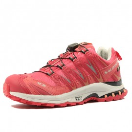 XA PRO 3D Ultra 2 Gore-Tex Chaussures Trail Femme Rouge