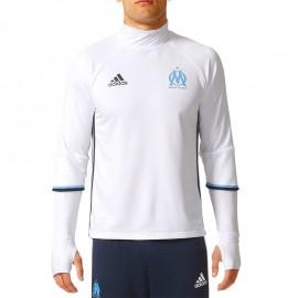 Olympique de Marseille Sweat Football Homme Blanc