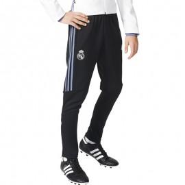 Real Madrid Pantalon Football Garçon Noir