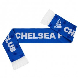 Chelsea Echarpe Football Homme Bleu