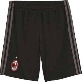 Milan AC Short Football Garçon Noir
