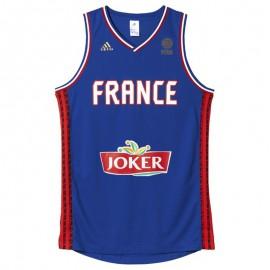 France Maillot Basketball replica Homme Bleu