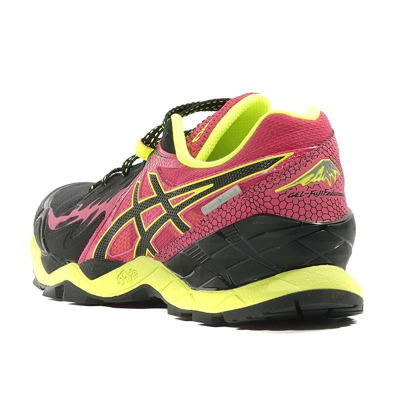 Chaussures Fuji Endurance Femme Plamsa Gel Trail Guard Noir OZkXuPiT