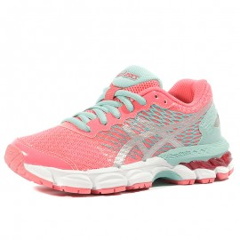 Gel Nimbus 18 GS Fille Chaussures Running Rose