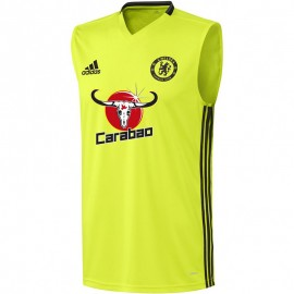 Chelsea Homme Maillot Football Jaune fluo