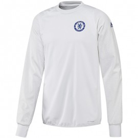 Chelsea Polaire Homme Sweat  Football Blanc