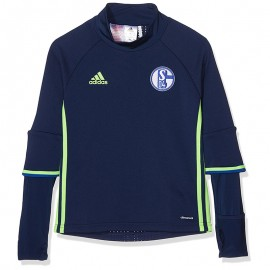Schalke Garçon Sweat Football Marine