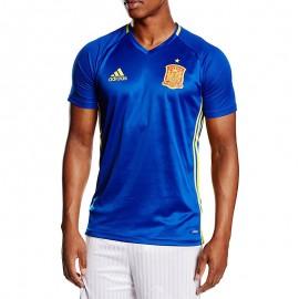 Espagne Homme Maillot Football Bleu