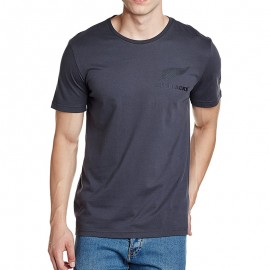 All Blacks Homme Tee-shirt Rugby Gris