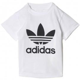 Trefoil Bébé Garçon Tee-shirt Blanc