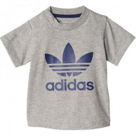 Trefoil Bébé Garçon Tee-shirt Gris