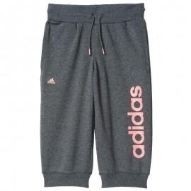 Essential Fille Pantalon 3/4 Gris