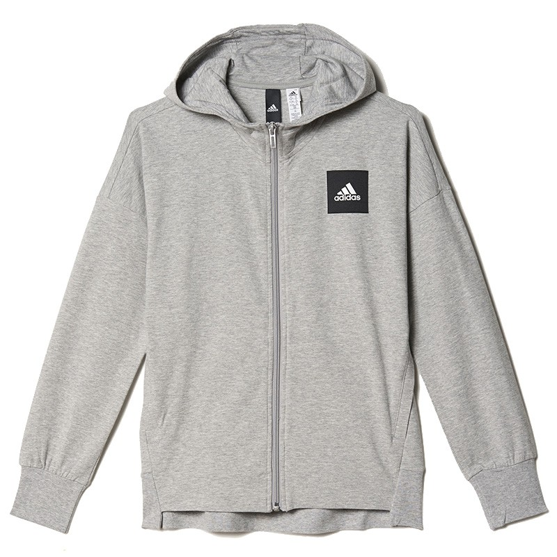 Sport Fille Sweat à capuche Gris
