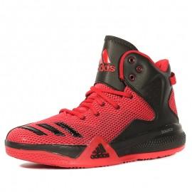 Dual Threat Bouncy Ball Garçon Chaussures Basketball Rouge