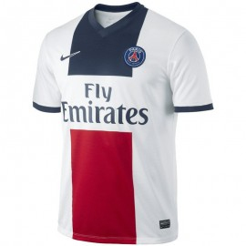 PSG 13-14 Homme Maillot Domicile Football Blanc