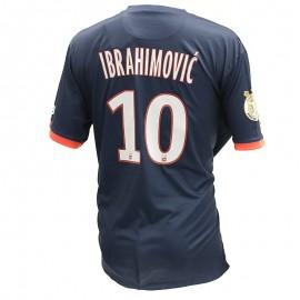 Ibrahimovic PSG 13-14 Homme Maillot Domicile Football Bleu