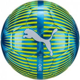 One Chrome Ballon Football Bleu