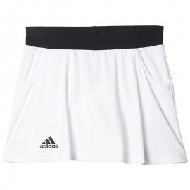Club Fille Jupe-short Tennis Blanc