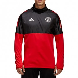 Polaire Manchester United Homme Sweat Football Rouge