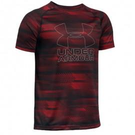 Big Logo Garçon Tee shirt Sport Rouge