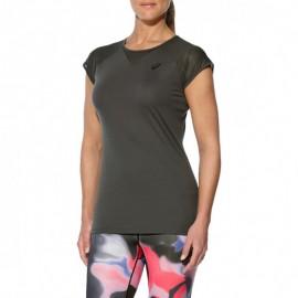 Workout Femme Tee-shirt Sport Gris