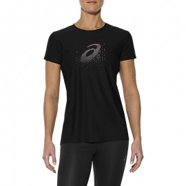 Graphic Femme Tee-shirt Sport Noir