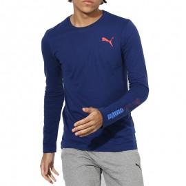 Active Hero Homme Tee-shirt Bleu