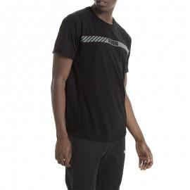 Active tech Homme Tee-shirt Noir