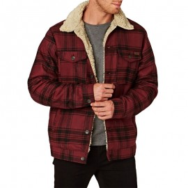Pitstop Homme Blouson Rouge