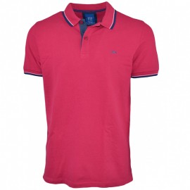 Poltim Homme Polo Rose
