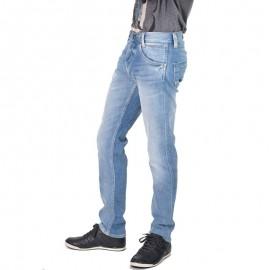 Spike Jean Regular Homme Bleu