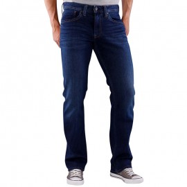 Kingston Jean Straight Homme Bleu