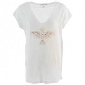 Tibi Lin Femme Tee-shirt Blanc